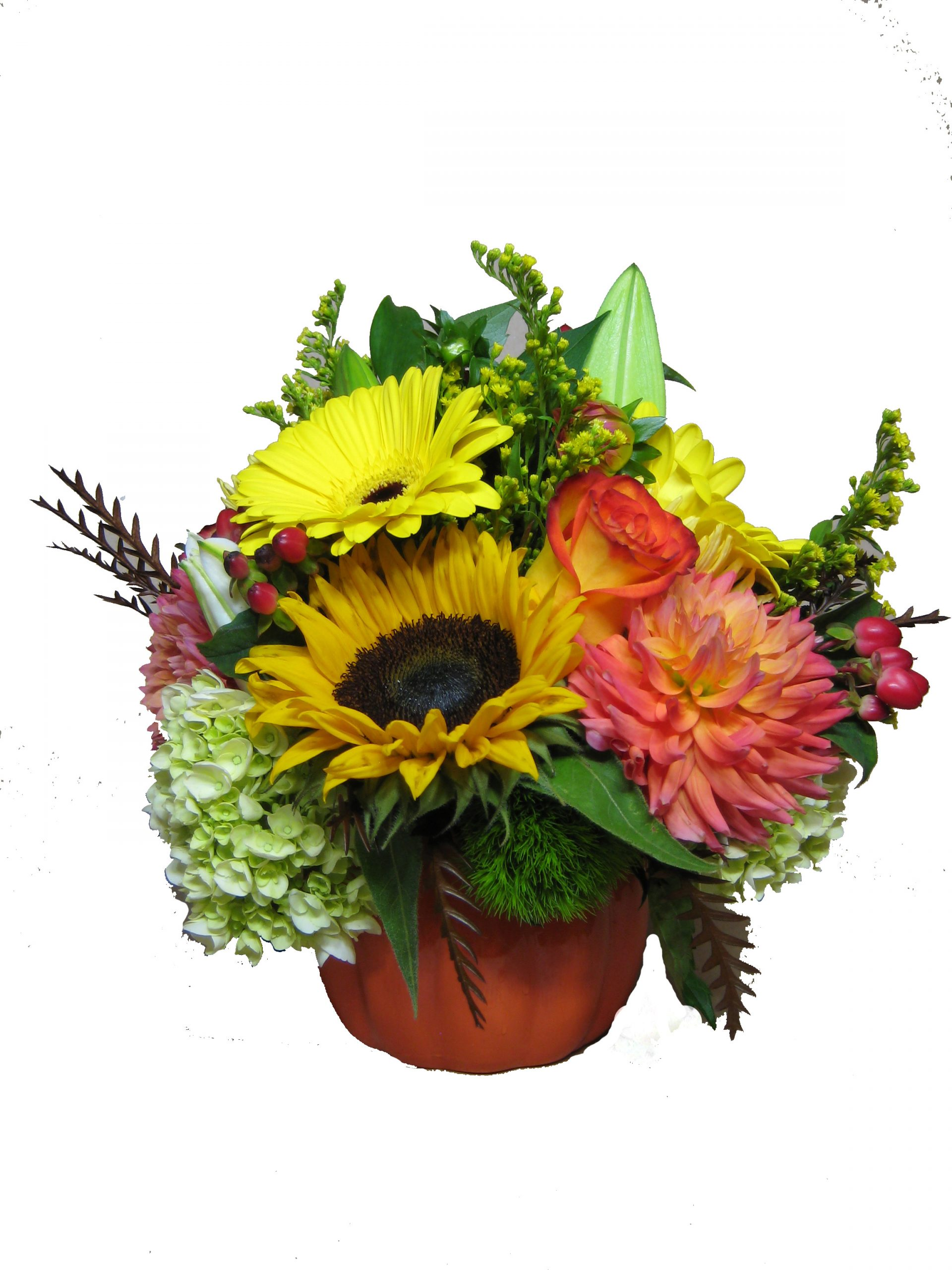 Harvest Floral arrangement.