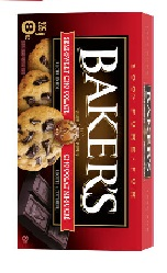 Bakers Semisweet Chocolate Squares 225g