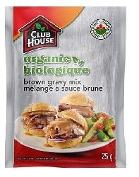 Club House Organic Brown Gravy Mix 25g