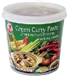 Cock Green Curry Paste 400g
