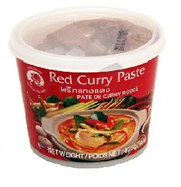 Cock Red Curry Paste 400g