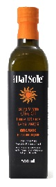 Dal Sole Organic Extra Virgin Olive Oil 500ml
