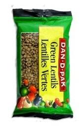 DanDPak Green Lentils 400g