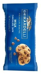 Ghirardelli Baking Milk Chocolate Chips 326g