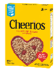 GM Cheerios Cereal 350g