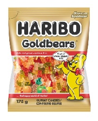 Haribo Goldbears Gummy Candies 175g