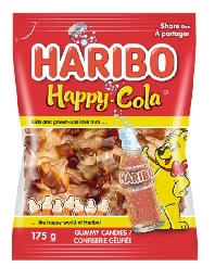Haribo Happy Cola Gummy Candies 175g