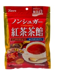 Kanro Non-sugar Black Tea Candy 72g