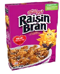 Kelloggs Raisin Bran Cereal 755g