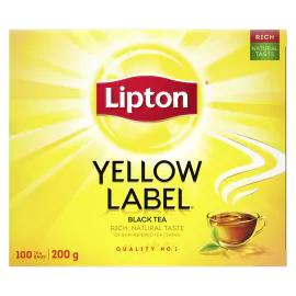 Lipton YL Black Tea Bags 100s