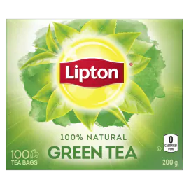 Lipton YL Green Tea Bags 100s