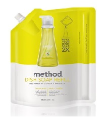 Method Lemon Mint Dish Soap Refill 1.06l