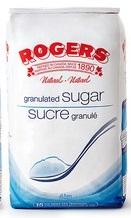 Rogers Fine Granulated White Sugar 4kg