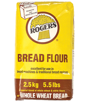 Rogers Whole Wheat Bread Flour 2.5kg
