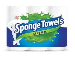 Scottowels Sponge Choose a Size Paper Towel 6s