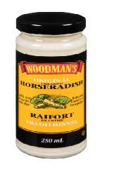 Woodmans Horseradish 250ml